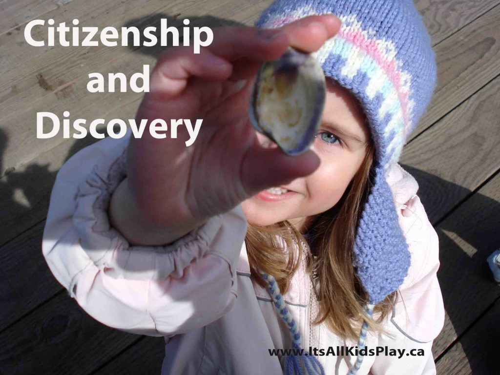 Citizenship and Discovery for Kids - Child holding seashell