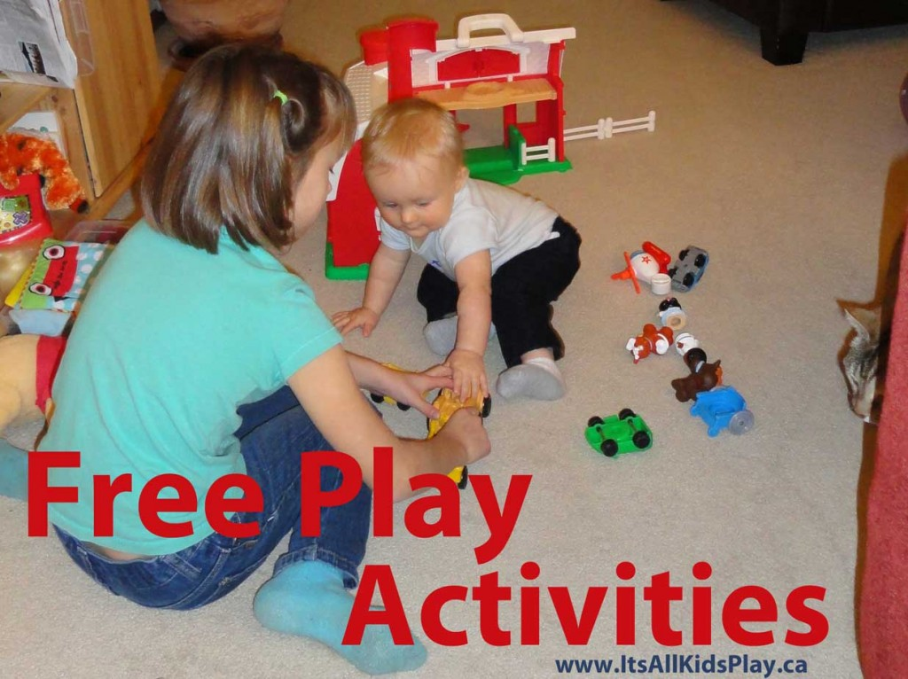 Kids Free Play Activities --children playing