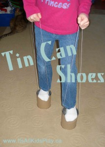 How to make Tin Can Shoes