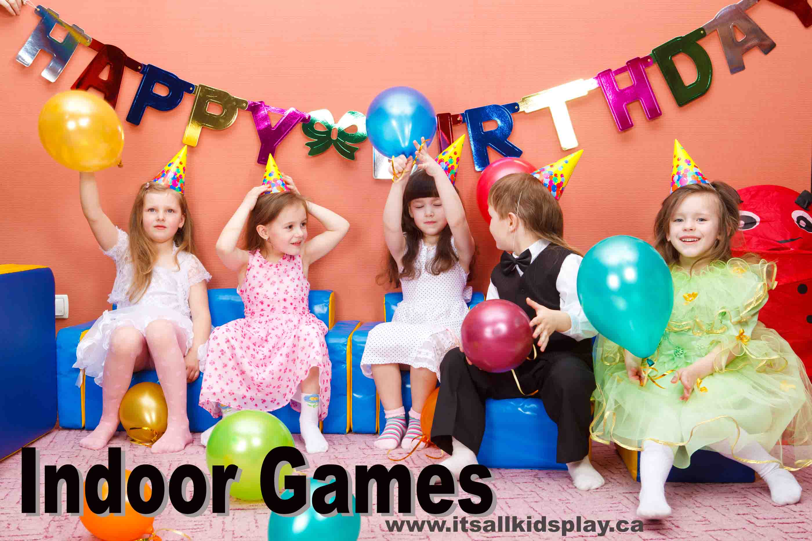 birthday party and indoor kids games