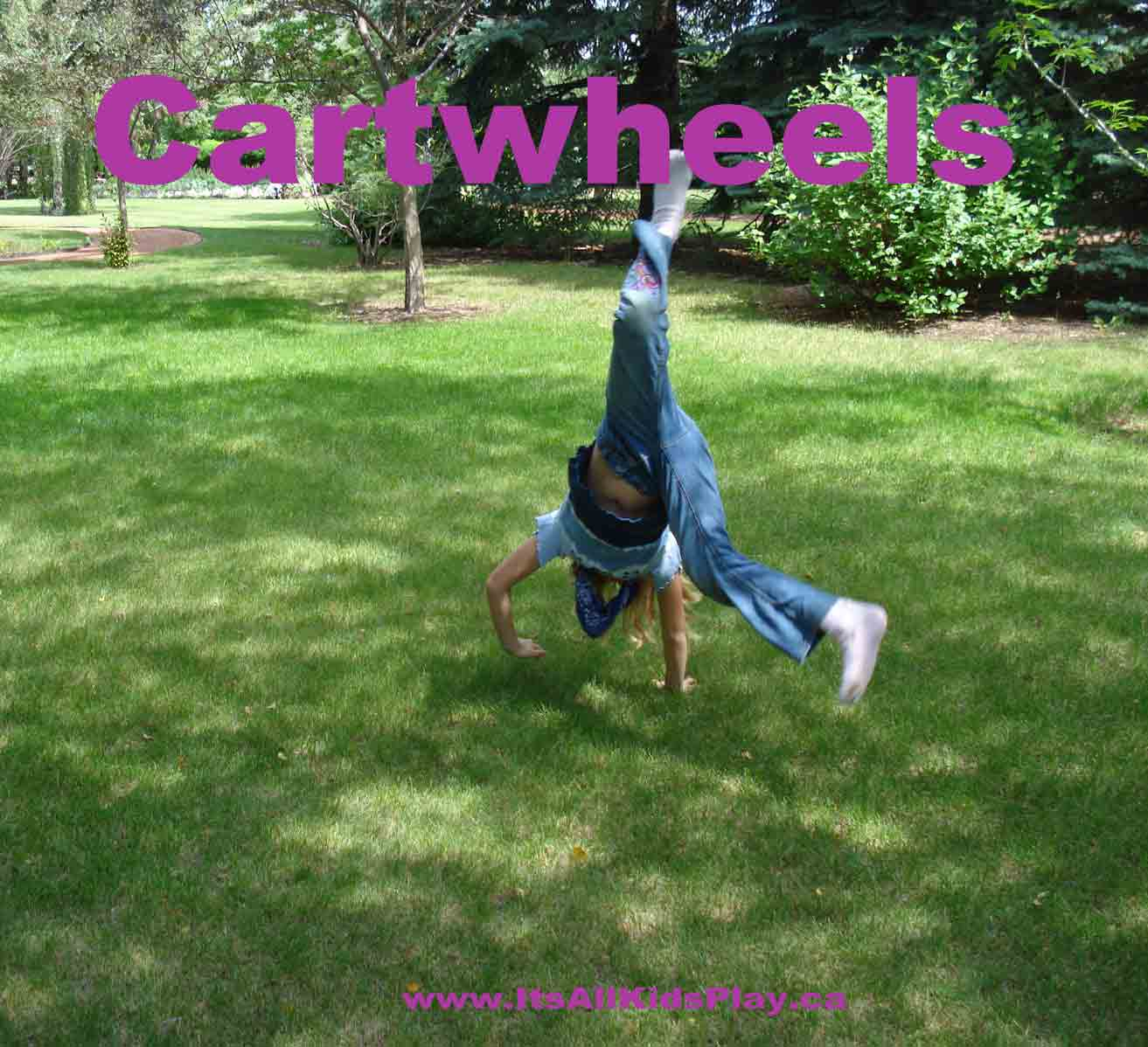 Cartwheels, somersaults, hand-stands, balancing, and more! What can ...
