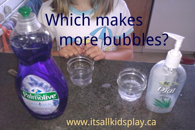 Which makes more bubbles?