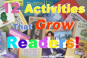 12 activities that grow readers
