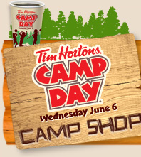 Tim Horton's Camp Day June 6, 2012
