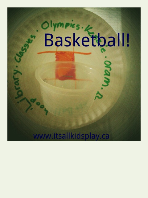 Basketball Craft for Kids