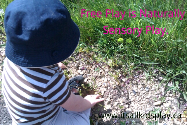 Free Play is Naturally Sensory Play