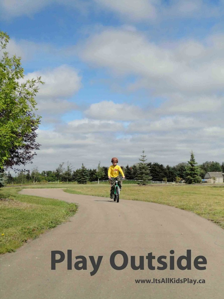 Play Outside: Train your kids to play outdoors.