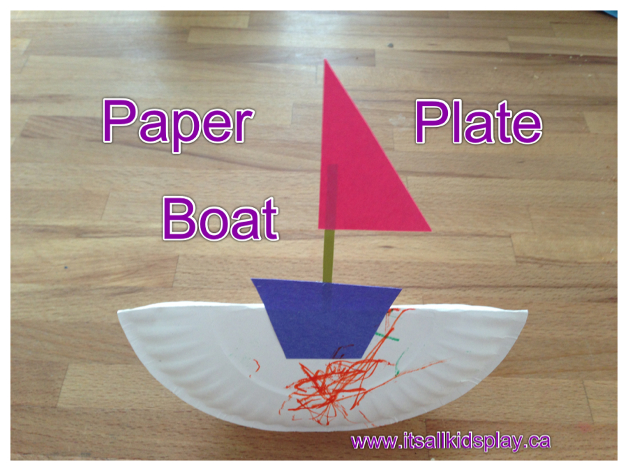 Boat Craft Ideas For Toddlers Crafting